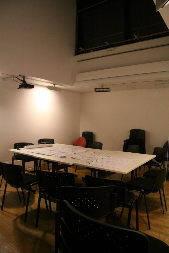 The North Seminar Room/ Evening Workspace/ Centered zone